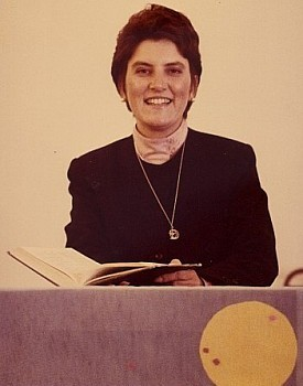 Rev. Suzanne Meyer, 1986-1988