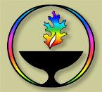 UUCOC Rainbow Chalice Logo
